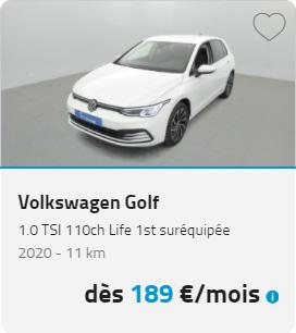 Volkswagen Golf LOA