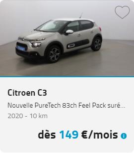 Citroën C3 LOA