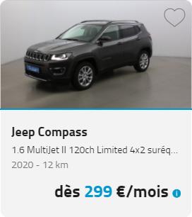 Jeep Compass LOA