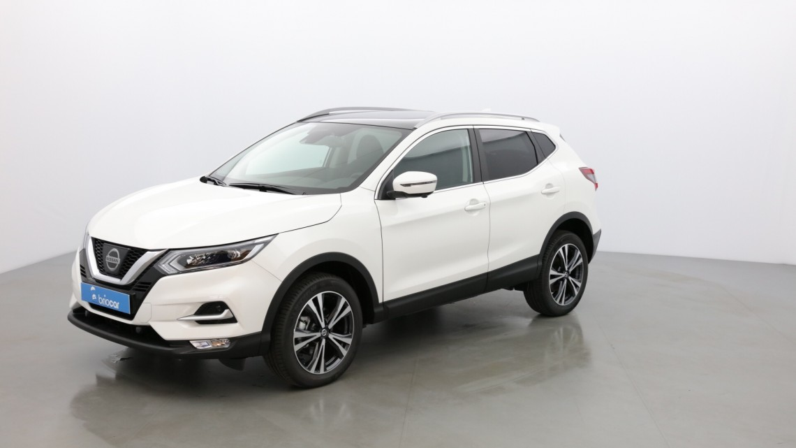 nissan qashqai 1 2l dig t 115 cv n connecta to t pano full leds blanc lunaire occasion. Black Bedroom Furniture Sets. Home Design Ideas