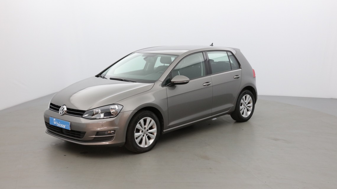volkswagen golf 1 6 tdi 105 confortline business dsg7 gris limestone occasion 2014 14280. Black Bedroom Furniture Sets. Home Design Ideas