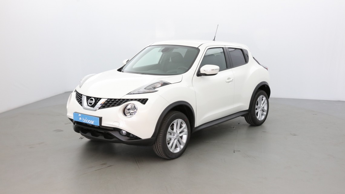 nissan juke 1 2 dig t 115 cv n connecta blanc lunaire occasion 2018 16280 briocar. Black Bedroom Furniture Sets. Home Design Ideas