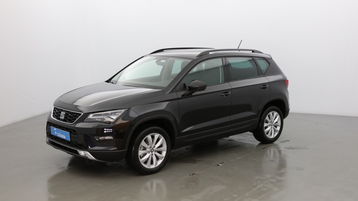 seat ateca 1 6 tdi 115 cv style noir magique occasion. Black Bedroom Furniture Sets. Home Design Ideas