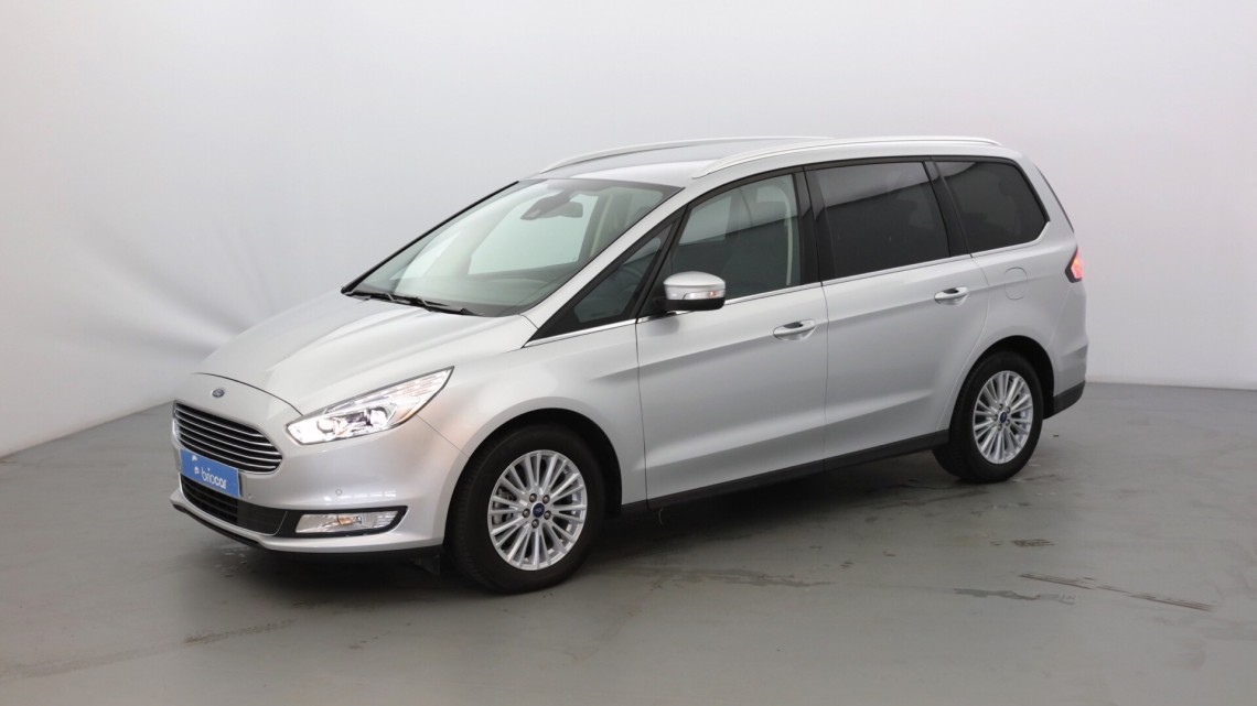ford galaxy 2 0 tdci 150 cv titanium powershift pack cuir 7 places gris lunaire occasion. Black Bedroom Furniture Sets. Home Design Ideas