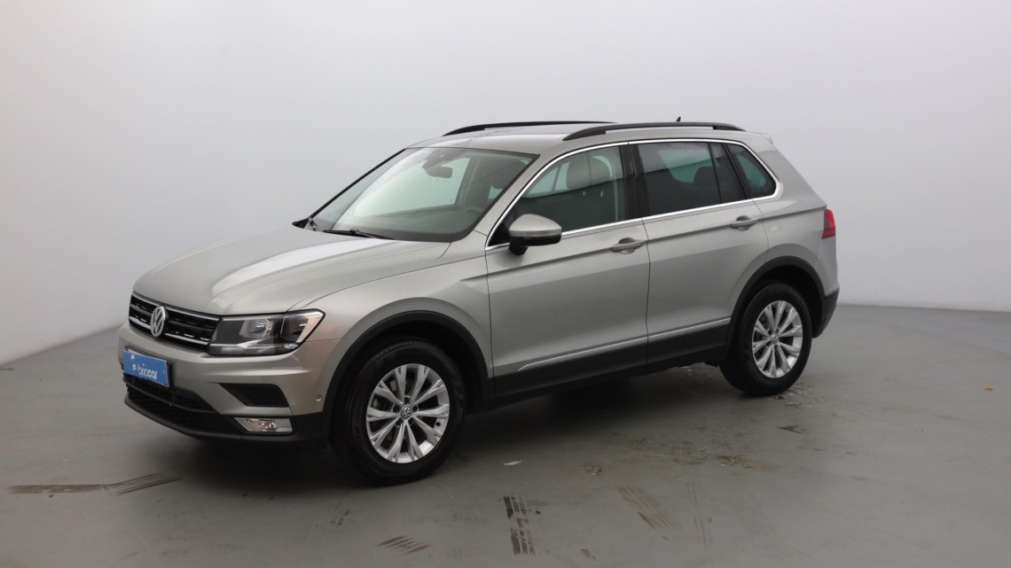 volkswagen tiguan nouveau 2 0 tdi 150ch confortline 4x4 gps gris tungst ne occasion 2016. Black Bedroom Furniture Sets. Home Design Ideas