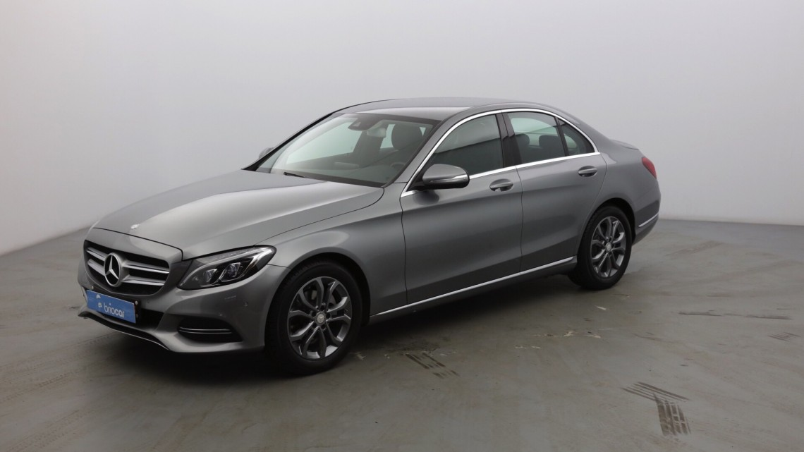 MERCEDES-BENZ Classe C 180 156 ch Executive 7G-Tronic Plus Argent palladium