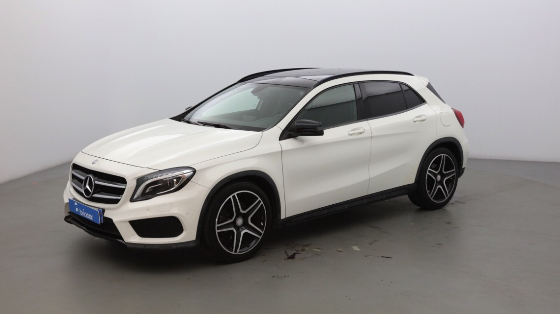 mercedes benz classe gla 220 cdi fascination 7g dct pack amg blanc cirrus occasion 2014. Black Bedroom Furniture Sets. Home Design Ideas
