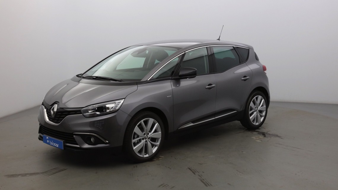RENAULT Scenic 1.3 TCe 115ch Limited Gris cassioppée