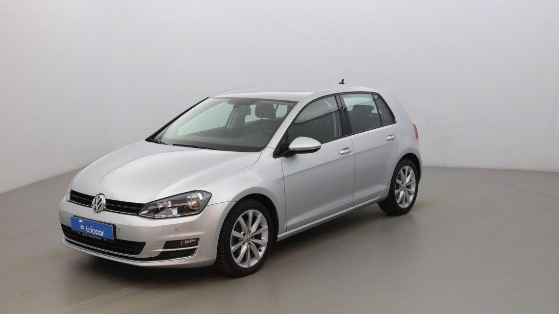 VOLKSWAGEN Golf 1.6 TDI 105ch BlueMotion Highline DSG7 suréquipé Gris Tungsten