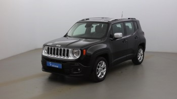 JEEP Renegade 1.6 MultiJet S&S 120ch Limited d'occasion 60442km révisée disponible à