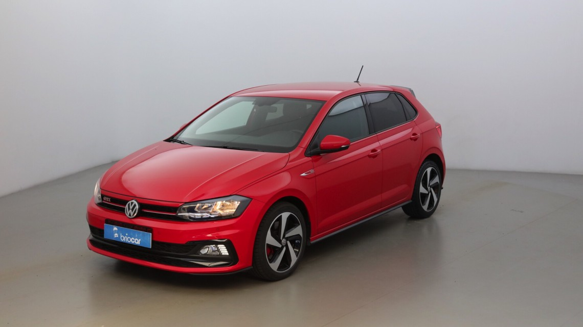 VOLKSWAGEN Polo 2.0 TSI 200ch GTI DSG6 Rouge Flash Rouge