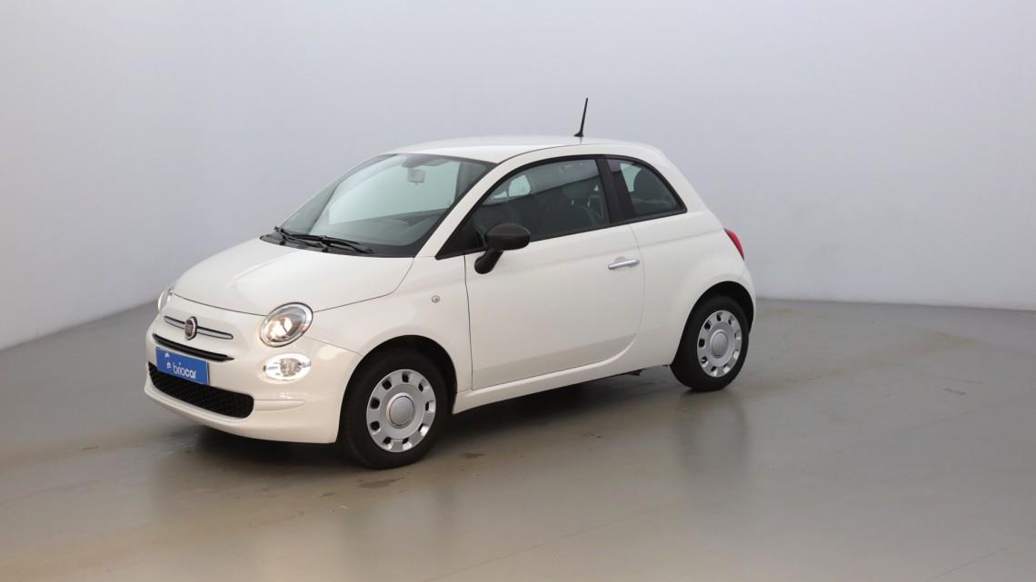 FIAT 500 1.2 8v 69ch Pop Coloris Pastel Bossa Nova White