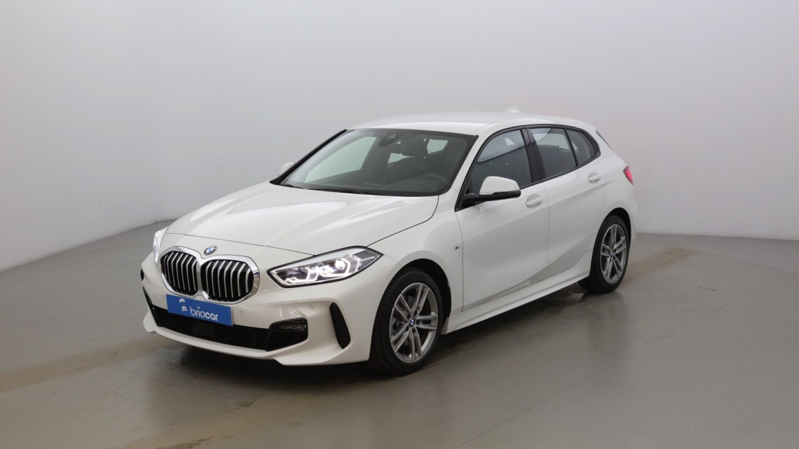 BMW Série 1 118iA 140ch M Sport DKG7 suréquipé Alpinweiss