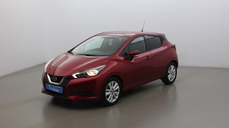 NISSAN Micra 1.0 IG-T 100ch Business Rouge Volcano