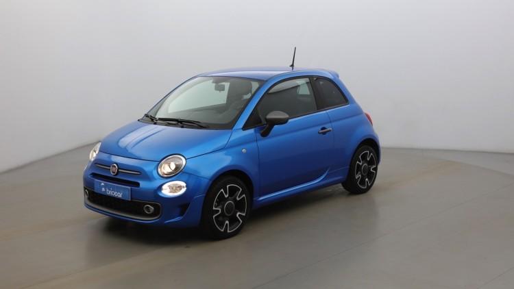 FIAT 500 1.2 8v 69ch Sport Italia Blue suréquipé Coloris Métal Italia Blue
